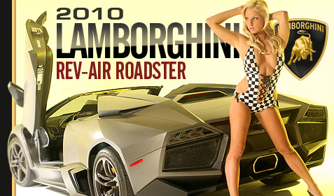 2010 Lamborghini Rev-Air Roadster