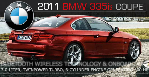 car review of the 2011 bmw 335is coupe 2011 bmw 335is. Black Bedroom Furniture Sets. Home Design Ideas