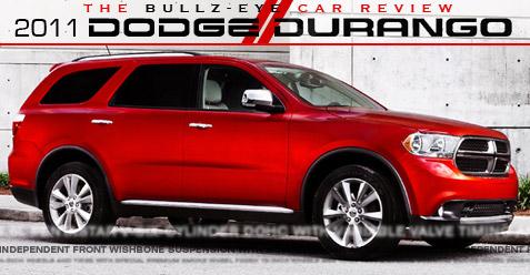 Dodge Durango review.