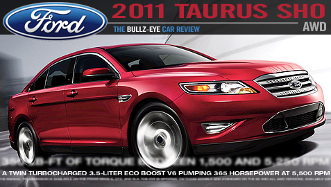 car review of the 2011 ford taurus sho 2011 ford taurus. Black Bedroom Furniture Sets. Home Design Ideas