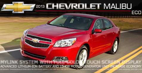 car review of the 2013 chevy malibu eco 2013 chevy malibu. Black Bedroom Furniture Sets. Home Design Ideas