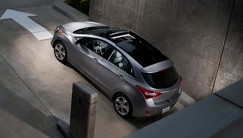Car Review Of The 2013 Hyundai Elantra Gt 2013 Hyundai