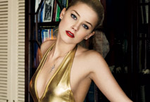 Amber Heard in GQ