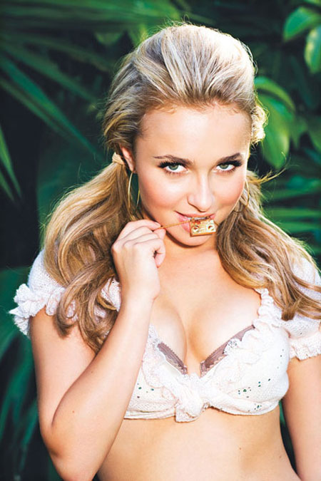 Hayden Panettiere in GQ