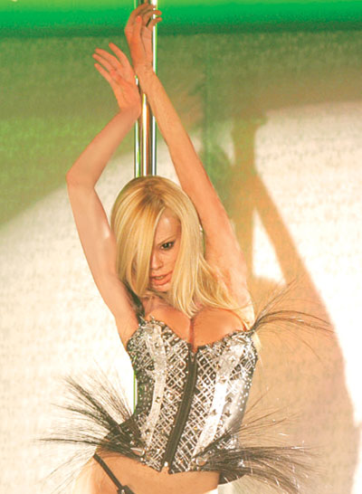 "Jenna Jameson in ""Zombie Strippers."""