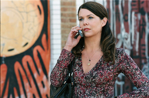 "Lauren Graham on the phone in ""Because I Said So"""
