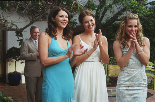 "Lauren Graham smiling in ""Because I Said So"""