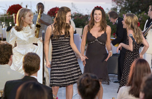 "Diane Keaton, Mandy Moore, Lauren Graham, and Piper Perabo in ""Because I Said So"""