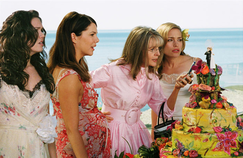 "Mandy Moore, Lauren Graham, Diane Keaton, and Piper Perabo in ""Because I Said So"""
