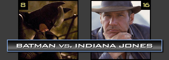 Batman vs. Indiana Jones