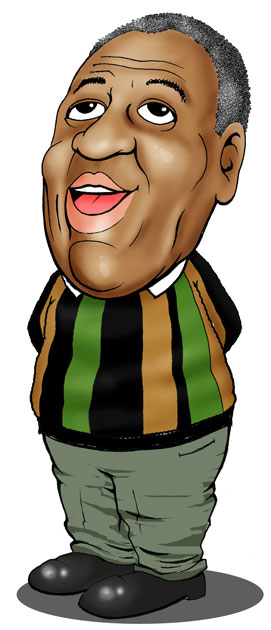 Bill Cosby caricature
