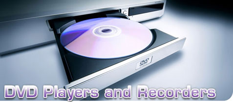 DVD players and recorders
