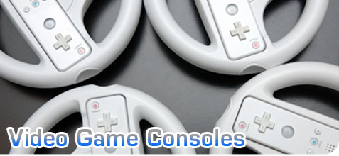 Video game console, wii wheel