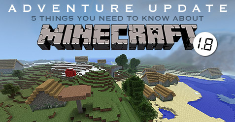 Minecraft Adventure Update 1.8