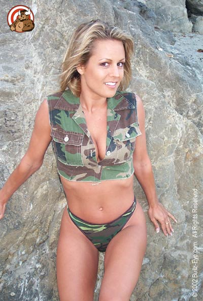 Jennifer in camo