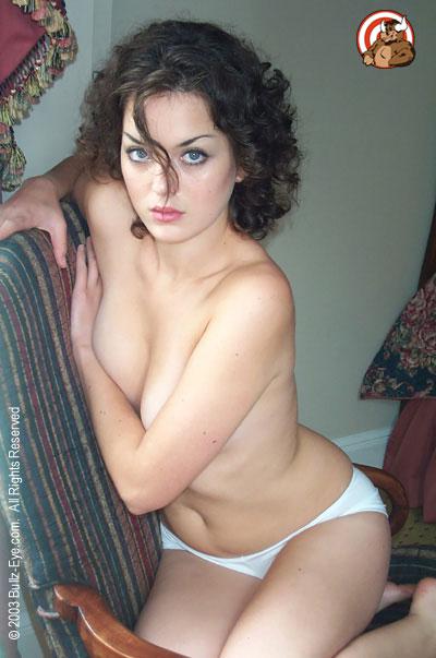 Betcee in her underwear