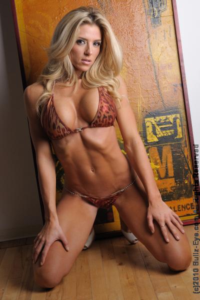 Jaimie Bernhardt in a bikini