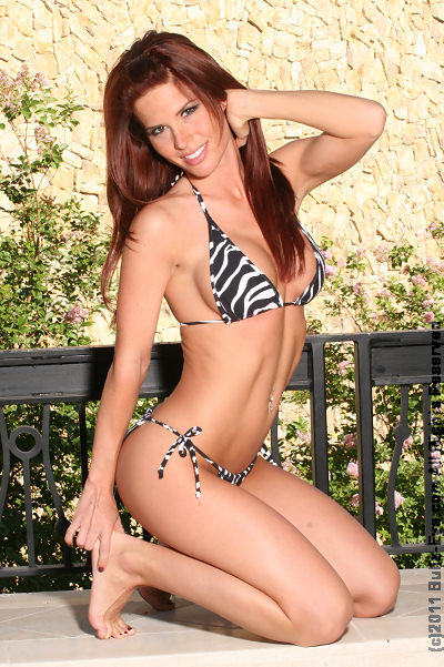 Taylor Byrd in tiger bikini