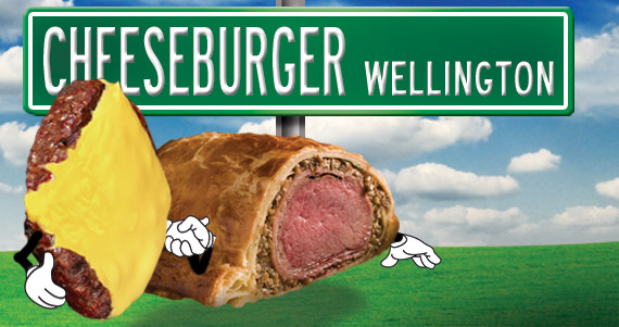 Cheeseburger Wellington
