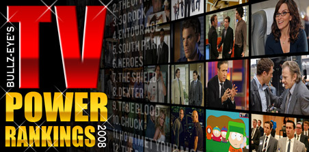 TV Power Rankings 2008