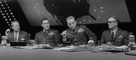George C Scott in Dr Strangelove