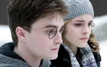 Harry and Hermione ponder the impermanence of the #1 spot