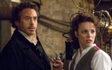 Robert Downey, Jr. and Rachel McAdams in