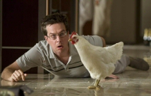 Ed Helms and friend in