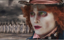 Johnny Depp is the Mad Hatter