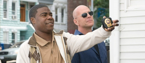 Bruce Willis and Tracy Morgan in