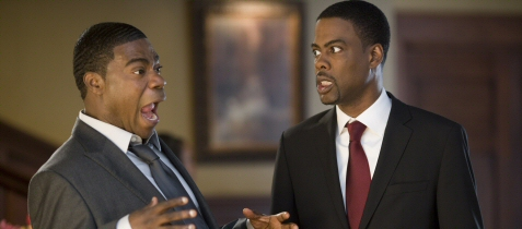 Chris Rock and Tracy Morgan in