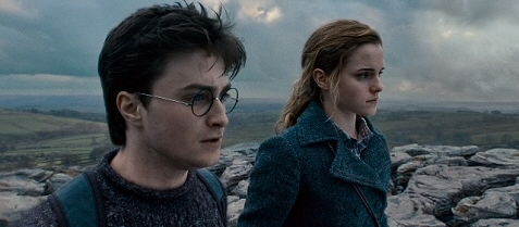 Daniel Radcliffe and Emma Watson in 