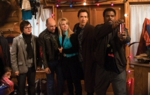 John Cusack, Rob Corddry, Craig Robinson, Lizzy Caplan, and Clarke Duke suffer past shock in