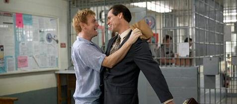 Jim Carrey and Ewan McGregor celebrate their good fortune in