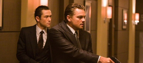 Leonardo DiCaprio and Joseph Gordon-Levitt in