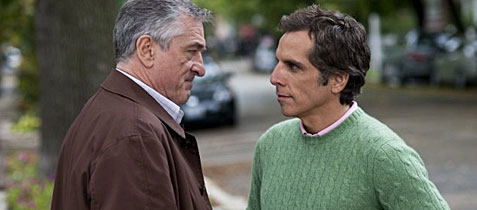 Robert De Niro and Ben Stiller face off over
