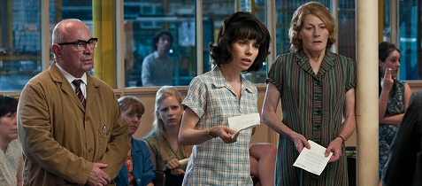 Sally Hawkins, Bob Hoskins, and Geraldine James in