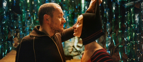 Dany Boon and Julie Ferrier in