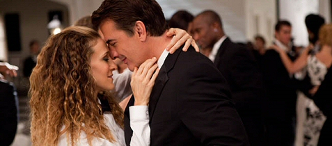 Sarah Jessica Parker and Chris Noth in