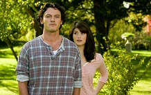 Luke Evans and Gemma Aterton in