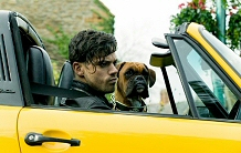Dominic Cooper and Boss in