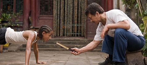 Jackie Chan and Jaden Smith in