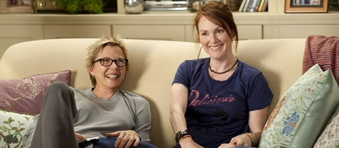 Julianne Moore and Annette Bening in