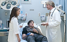 Ashton Kutcher, Natalie Portman, and Cary Elwes in