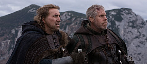 Nicolas Cage and Ron Perlman in