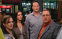Vince Vaughn, Kevin James, Jennifer Connelly and Winona Ryder think about their odds in