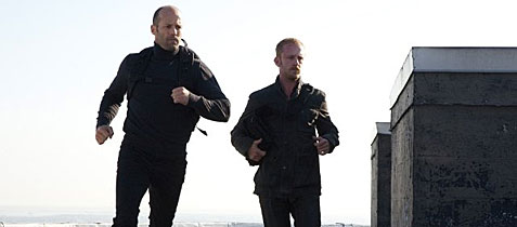 Jason Statham and Ben Foster in 
