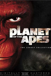 planet   apes collection review planet   apes  legacy collection dvd