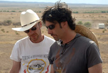Joel Coen and Ethan Coen in No Country for Old Men