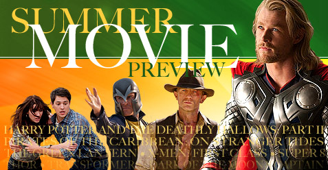 2011 Summer Movie Preview